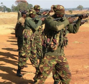 KDF Recruits Training