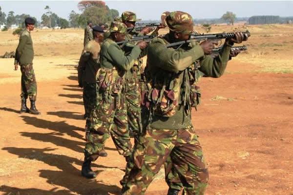 KDF Recruits Training