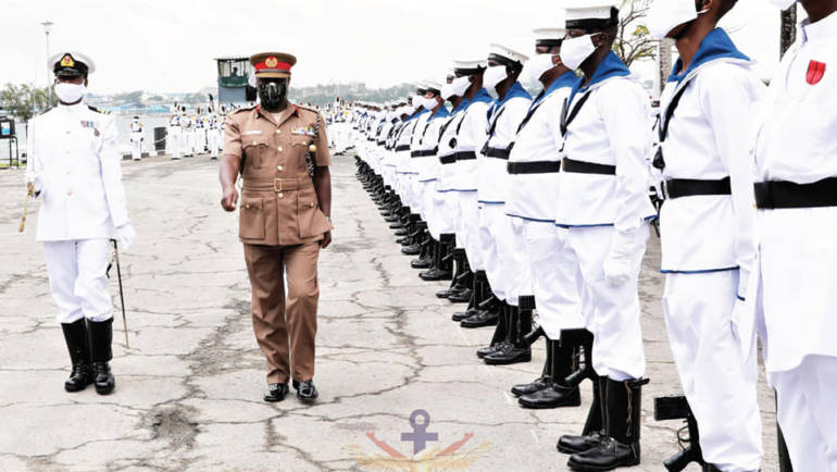 GEN ROBERT KIBOCHI VISITS THE KENYA NAVY