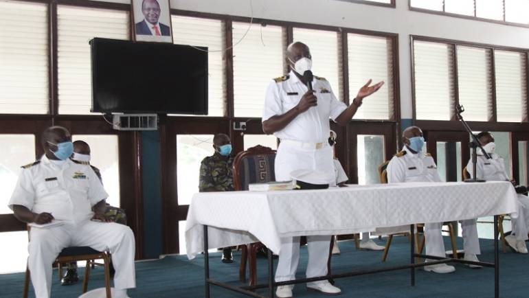 'Clear Lower Deck' At Kasarani Sailors' Hall Mtongwe Base