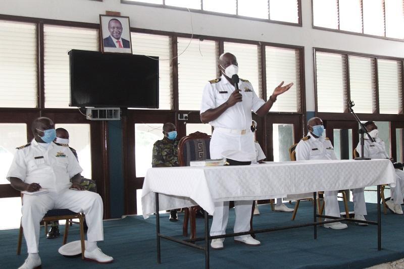 'Clear Lower Deck' At Kasarani Sailors' Hall Mtongwe Base
