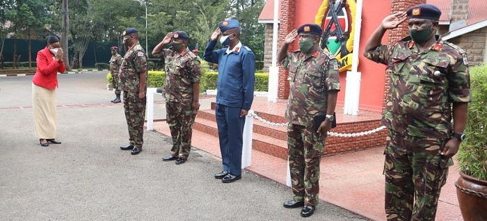 Defence Cabinet Secretary visits Kenya Army Headquarters
