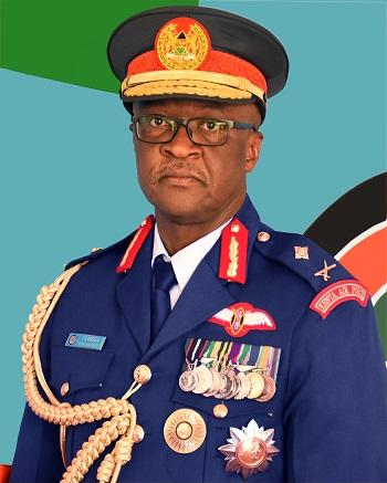 Maj Gen F O Ogolla MGH, EBS, HSC, 'ndc' (K) 'psc' (FRA)