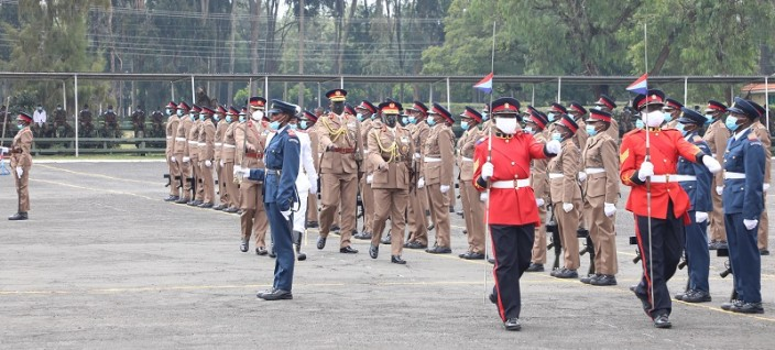 Specialist Cadets Commissioning Parade