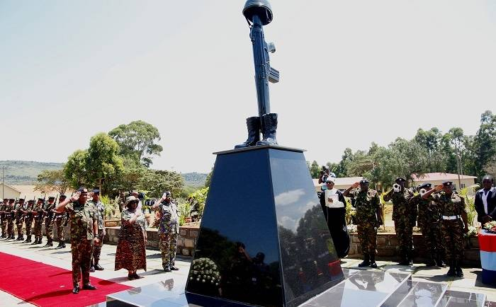 Kenyatta Barracks Hosts Seventh KDF Day