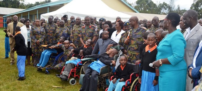 Laikipia Air Base Observes KDF Day In A Special Way