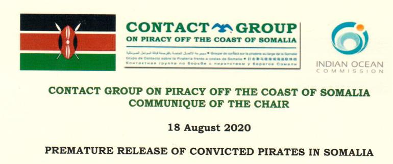 Premature release of convicted pirates in Somalia
