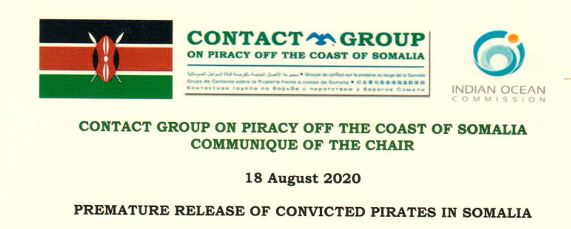Premature release of convicted pirates in Somalia