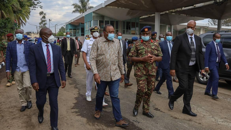 EMULATE KDF'S EFFICIENCY IN SERVICE DELIVERY, PRESIDENT KENYATTA CHALLENGES KENYANS