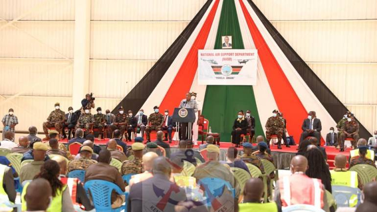 LAUNCH OF NATIONAL AIR SUPPORT DEPARTMENT (NASD)