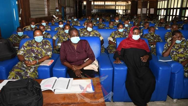 KENYA NAVY TRAINING COLLEGE  HIV/AIDS AWARENESS PROGRAM