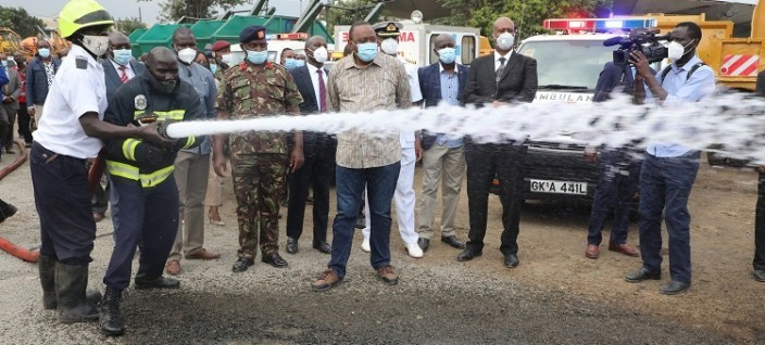 KDF Rehabilitates Grounded NMS Machinery