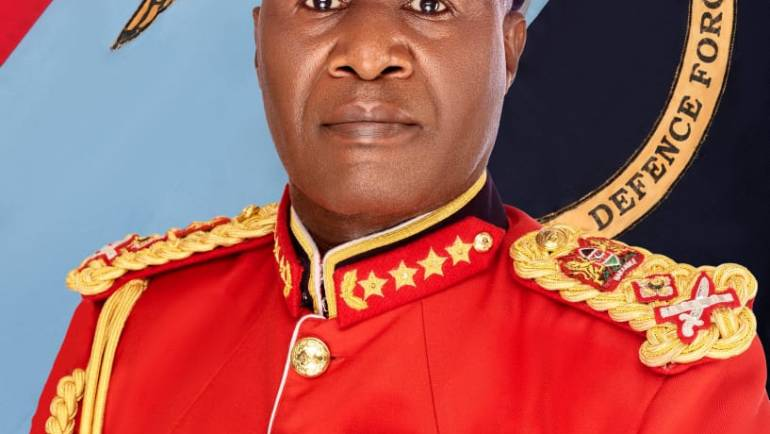 GENERAL ROBERT KARIUKI KIBOCHI EGH CBS 'ndc' (K) 'psc' (UK) : CHIEF OF THE DEFENCE FORCES