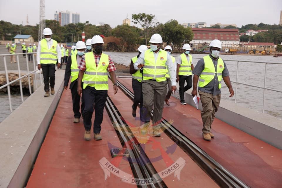 KENYA SHIPYARDS BOARD OF DIRECTORS VISIT KISUMU YARD