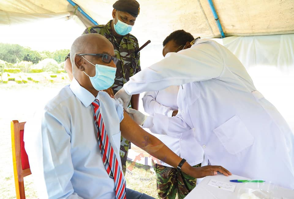 PS DEFENCE LAUNCHES KDF VACCINATION EXERCISE AGAINST COVID-19