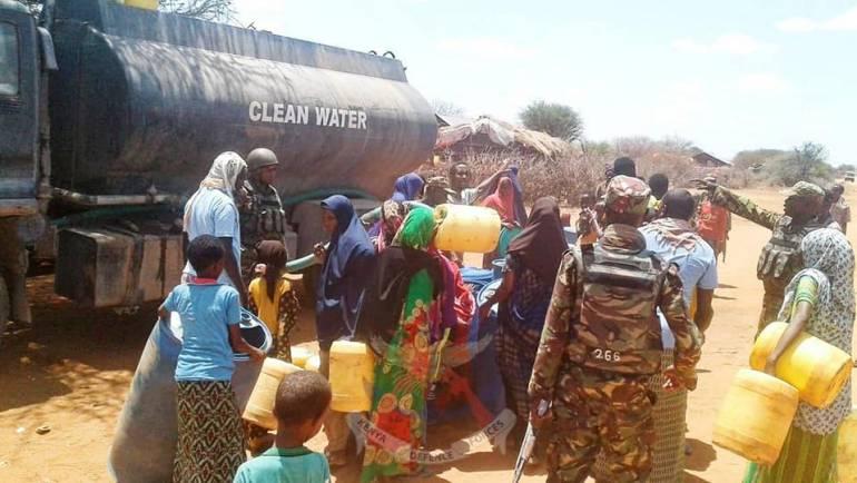 KDF TROOPS STEP UP HUMANITARIAN EFFORTS IN SOMALIA