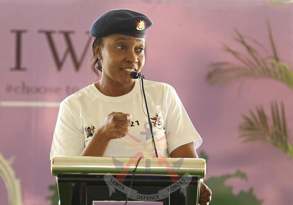 MAJOR APONDI LAUDS KDF WOMEN FOR, AMONG OTHER ROLES, CONSERVING THE ENVIRONMENT