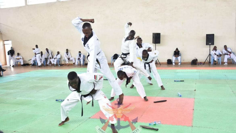 KENYA DEFENCE FORCES HOLDS TAEKWONDO CHAMPIONSHIP