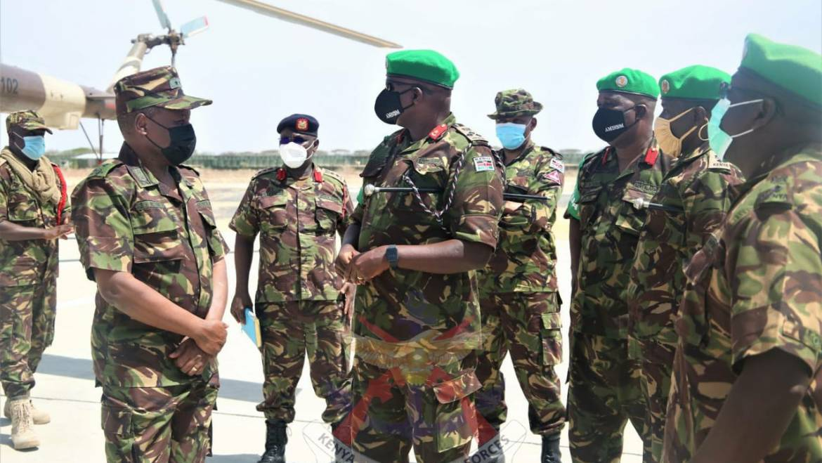 KDF DELIVERS COVID-19 VACCINES FOR TROOPS IN SOMALIA
