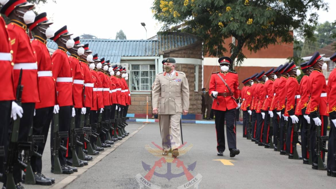 UK CHIEF OF DEFENCE STAFF VISITS KENYA