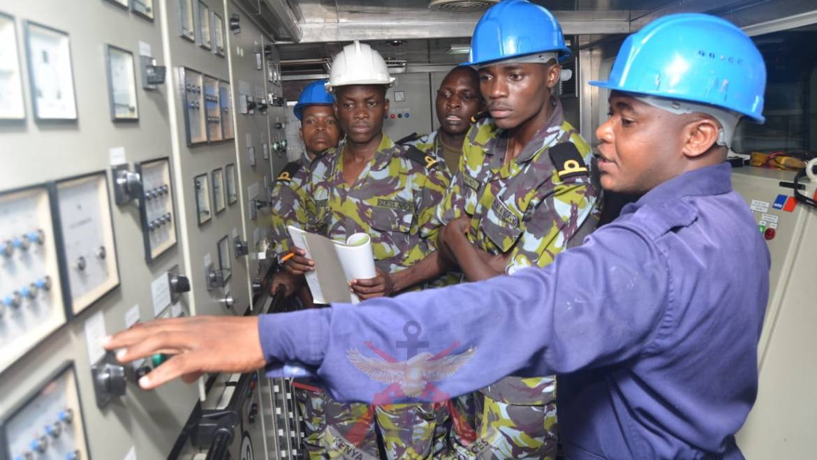 KENYA NAVY TRAINING CRUISE COMPLETES THE FIRST LEG