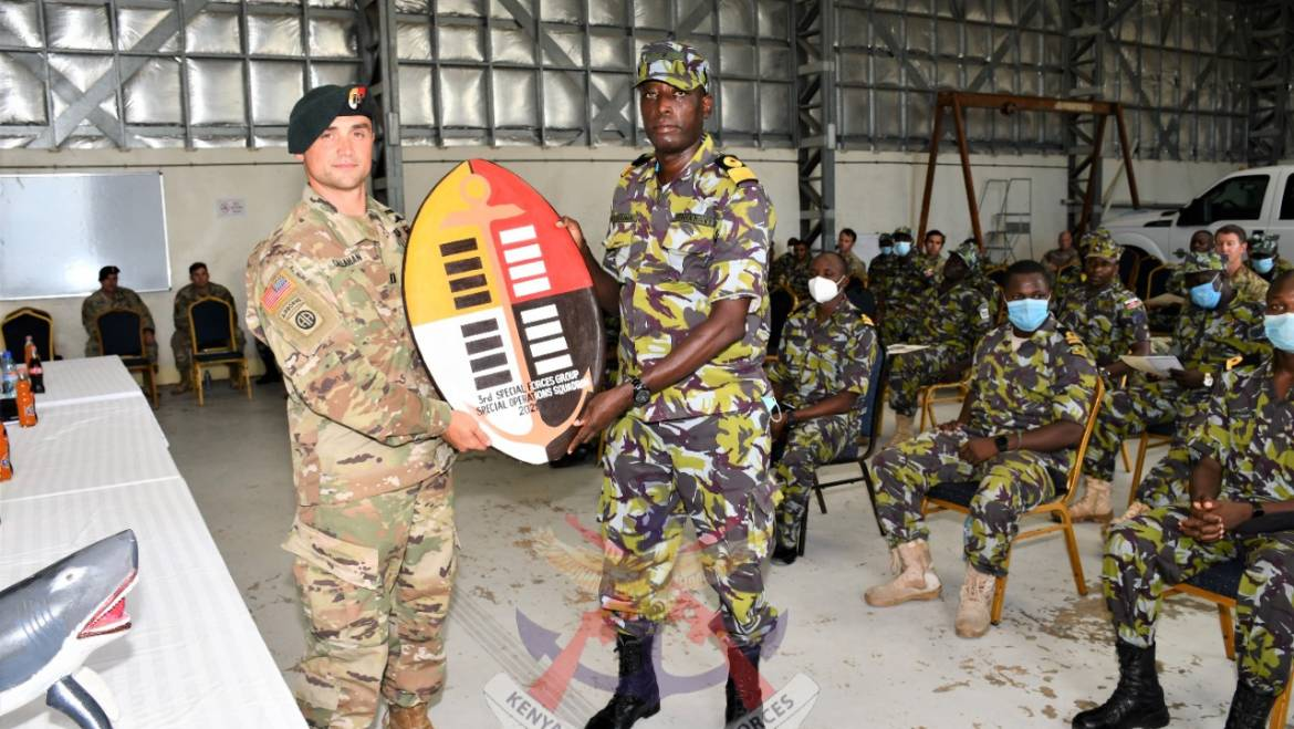 SUCCESS OF THE KENYA NAVY AND US SPECIAL FORCES JOINT COMBINED TRAINING