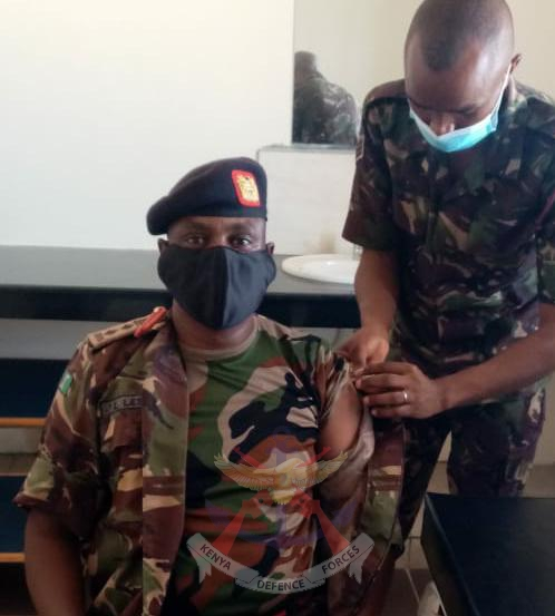 VACCINATING THE SOLDIER