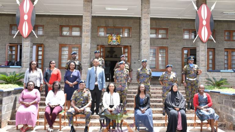 MILITARY WIVES ASSOCIATION VISIT MOI AIR BASE SCHOOLS AND MEDICAL CENTER
