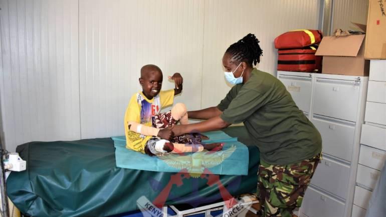 CURED OF BURULI ULCERS – A MEDICAL MIRACLE IN KISMAYU
