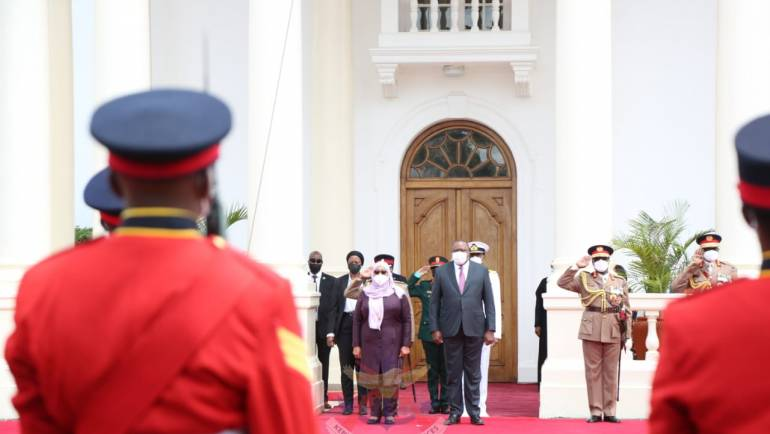 A TWO-DAYS STATE VISIT BY TANZANIAN PRESIDENT IN KENYA