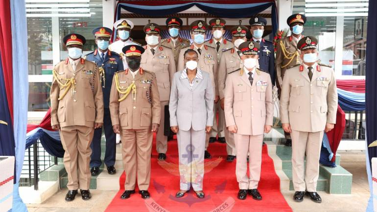 EGYPTIAN ARMED FORCES CHIEF OF STAFF VISITS MoD