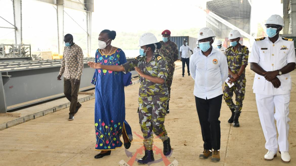 DEFENCE CABINET SECRETARY OVERSEES THE HANDING OVER CEREMONY OF A MULTI-FUNCTION DRILL FACILITY TO THE KENYA NAVY
