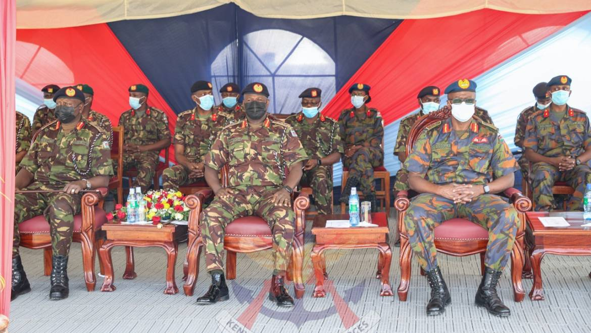 KDF QUICK REACTION FORCE READY TO DEPLOY TO CONGO