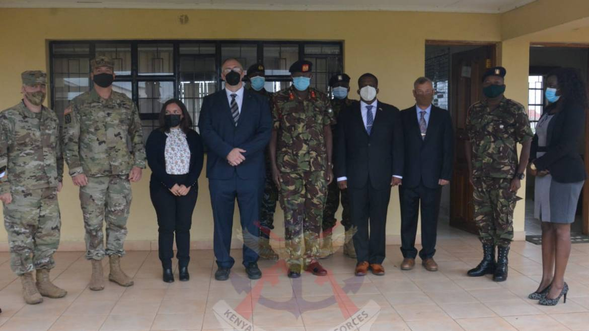 KDF TROOPS TRAIN ON COUNTERING WEAPONS OF MASS DESTRUCTION