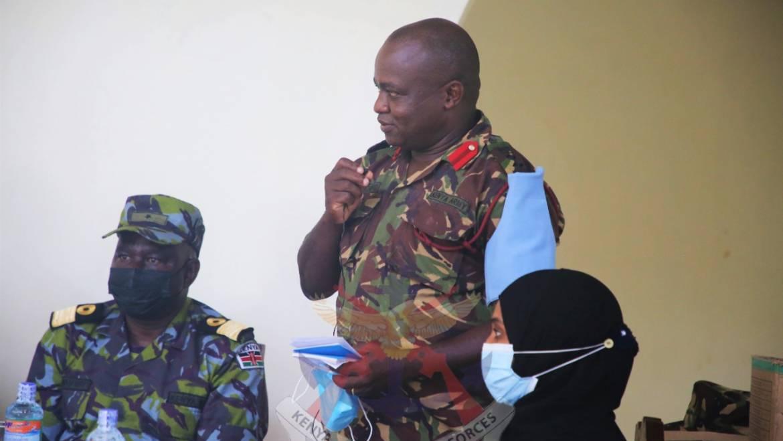 KDF DONATES MEDICAL EQUIPMENT AND PHARMACEUTICAL SUPPLIES TO FAZA HOSPITAL AND MBWAJUMWALI HEALTH CENTRE IN LAMU COUNTY