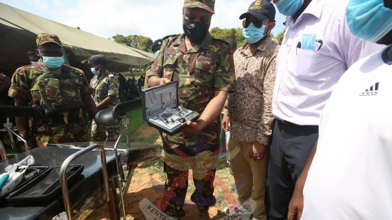 700 BENEFIT FROM KDF MEDICAL CAMP AT KIUNGA