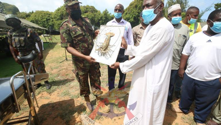 """""""THANK YOU KDF"""" FROM THE LOCALS"""