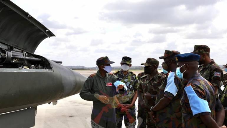 CDF VISITS AIR COMPONENT AT MOMBASA FOB
