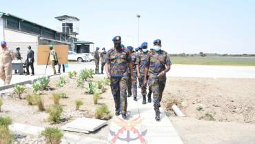 THE VCDF LIEUTENANT GENERAL FRANCIS OGOLLA BIDS FAREWELL TO THE LAIKIPIA AIR BASE FRATERNITY
