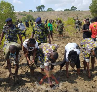KDF PLANTS TREES TO COMMEMORATE THE INTERNATIONAL DAY FOR THE CONSERVATION OF THE MANGROVE ECOSYSTEM