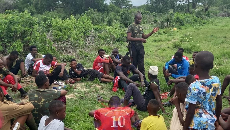 POLICE BORDER PATROL UNIT ENGAGE LOCAL COMMUNITIES IN MANGAI, SANGAILU AND GALMAGALA