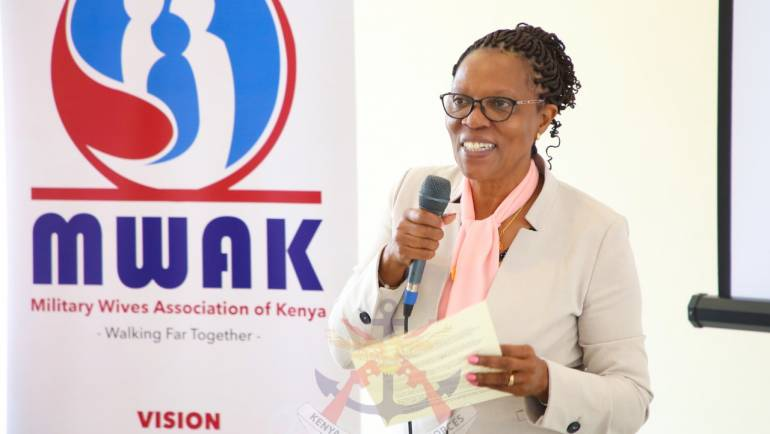 MWAK CONNECTS WITH KDF WIDOWS IN BID TO EMPOWER