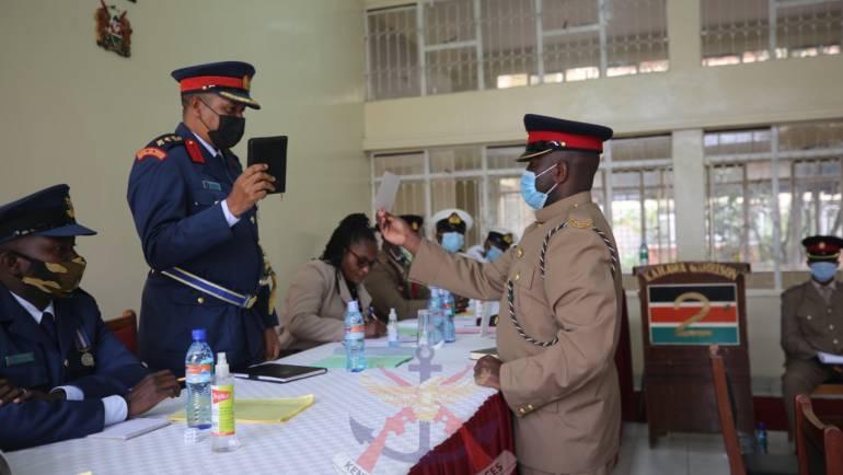 TRIO ARRAIGNED IN COURT MARTIAL FOR RECRUITMENT MALPRACTICES