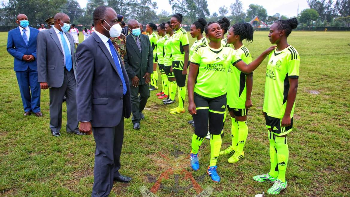 CHIEF OF DEFENCE FORCES WOMEN BORA CUP KICKS OFF