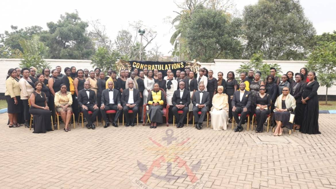 DEFENCE CS HOSTS NEWLY PROMOTED SENIOR LADY OFFICERS FOR A MENTORSHIP PROGRAM