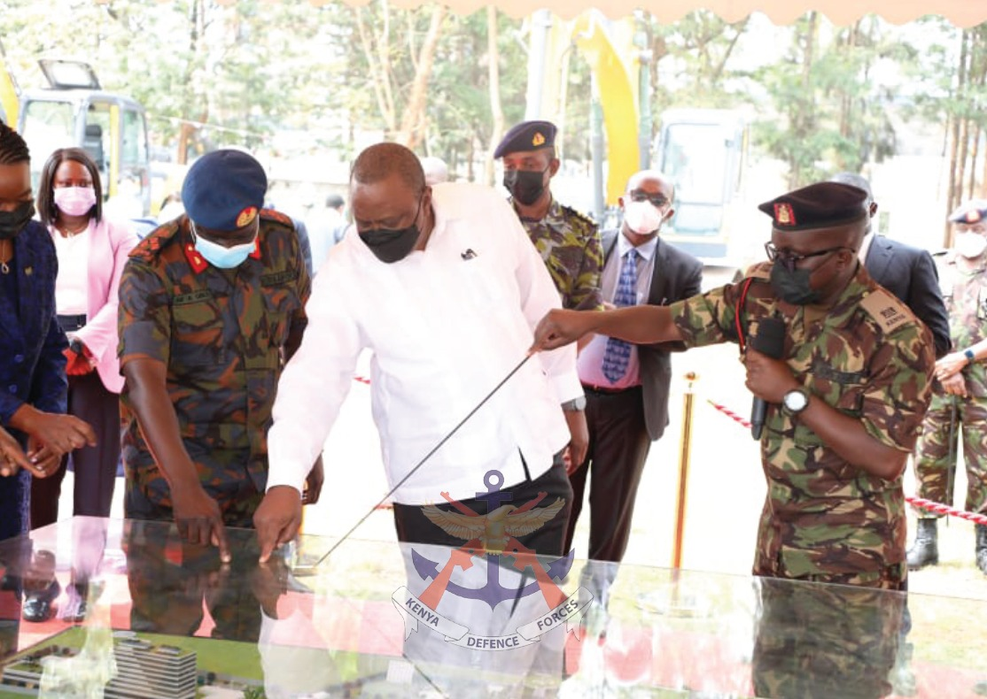 PRESIDENT UHURU BREAKS GROUND FOR NEW LEVEL SIX NATIONAL REFERRAL AND RESEARCH HOSPITAL