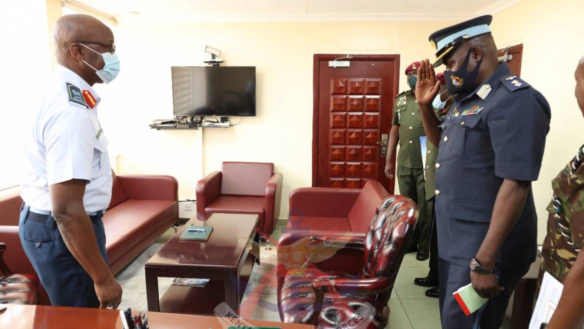 ZAMBIA DEFENCE SERVICES, COMMAND AND STAFF COLLEGE VISIT KENYA