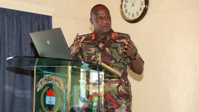 LECTURE OF OPPORTUNITY TO SENIOR COMMAND COURSE AT THE JOINT WARFARE CENTRE