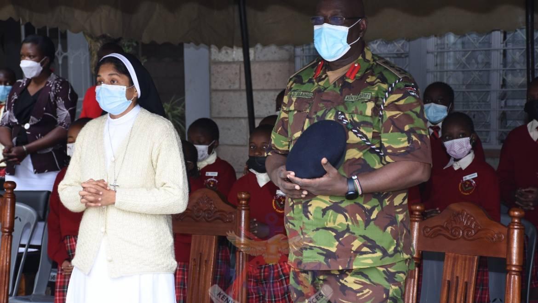 KENYA ARMY CHAPLAINCY MENTORS PUPILS IN NAIROBI