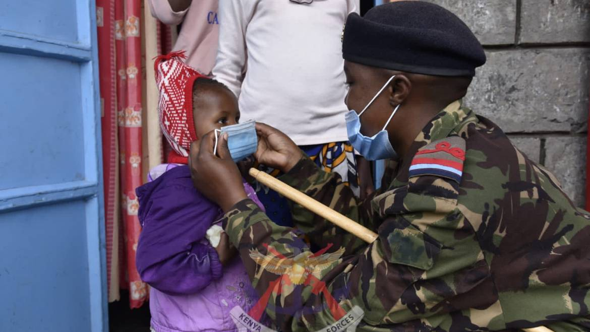 COMMUNITY SERVICE BY THE KENYA MILITARY ACADEMY